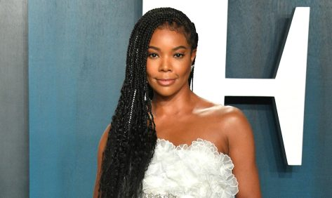 Gabrielle Union in Bikini Dances to the Beat of Her Own Drum