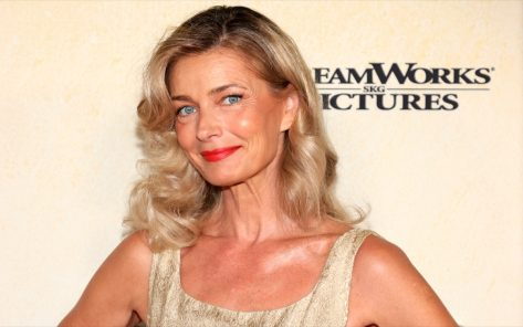 Paulina Porizkova, 56, Wears Only a Bed Sheet in Latest Pic