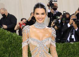 Kendall Jenner Rocks Bathing Suit in Fall Photo Dump