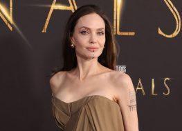 Angelina Jolie Looks Ageless at Eternals Premiere