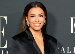 """Eva Longoria in Bathing Suit Shows Off """"Beach Hair at its Finest!"""""""